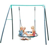 Plum Products Nest Swing with Mist Water Spraying System