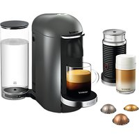 Nespresso XN902T40Si Vertuo Plus Electrical Coffee Maker, Titanium