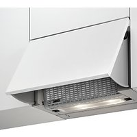 Zanussi ZHI612G Integrated Pullout Cooker Hood, Stainless Steel