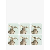 Royal Worcester Wrendale Hare Placemats, Set of 6