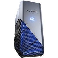 Dell Inspiron 5680 Tower PC, Intel Core i7, 8GB, 1TB HDD + 128GB SSD, NVIDIA GTX 1060, Recon Blue