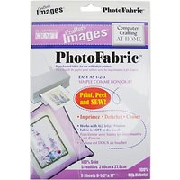 Blumenthal PhotoFabric Silk Fabric, Pack of 5