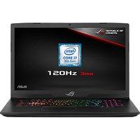 """ASUS ROG Strix GL703GM-EE063T Laptop, Intel Core i7, 8GB RAM, 1TB HDD + 128GB SSD, NVIDIA GeForce GTX 1060, 17.3"""" 120Hz, Black"""