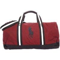 Ralph Lauren Canvas Duffle Bag, Wine