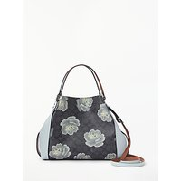 Coach Edie 28 Shoulder Bag, Charcoal Sky