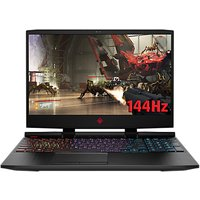 "HP OMEN 15-dc0022na Gaming Laptop, Intel Core i7, 16GB RAM, 1TB HDD, NVIDIA GeForce GTX 1070, 15.6"", Full HD, Black"