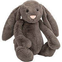 Jellycat Bashful Bunny Soft Toy, Huge, Truffle