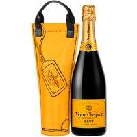 Veuve Cliquot Yellow Label Champagne Shopping Bag, 75cl