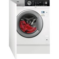 AEG L7WC8632BI Integrated Washer Dryer, 8kg Wash/4kg Dry Load, A Energy Rating, White