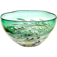 Voyage Athena Large Glass Bowl, Emerald