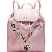 Ted Baker Baileee Harmony Print Drawstring Backpack, Pink