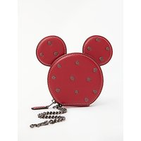 Disney X Coach Minnie Leather Coin Purse