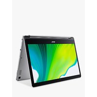 Acer Chromebook CB5-312T-K1TR MediaTek M8173C Processor, 4GB RAM, 64GB eMMC Flash, 13.3, Silver