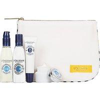 L'Occitane Shea Butter Skincare Travel Ritual Gift Set