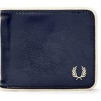 Fred Perry Billfold Wallet, Blue/ecru