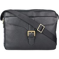 Hidesign Bleaklow 02 Messenger Bag, Black