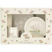 Jellycat Bashful Bunny Plate and Bowl Set