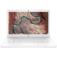 "HP 14-ca004na Chromebook, Intel Celeron, 4GB RAM, 32GB eMMC, 14"", Grey"