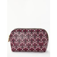 Liberty Iphis Print Canvas Cosmetic Bag