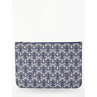 Liberty Iphis Print Canvas Pouch Purse