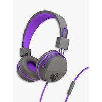 JLab Audio JBuddies Studio Children's Volume Limiting Over-Ear Headphones with Mic/Remote