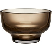 Design Project by John Lewis No.186 Small Glass Bowl, 10cm, Brown Topaz