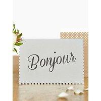 Katie Leamon Luxe Bonjour Card