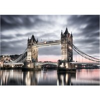 Brookpace London Glass Art Print, 70 x 100cm