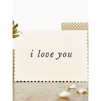 Katie Leamon Luxe I Love You Card