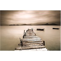 Brookpace Jetty Glass Art Print, 70 x 100cm
