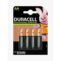 DURACELL Ultra Rechargeable AA Batteries, Pack of 4