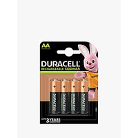 Duracell Recharge Plus, Rechargeable AA Batteries, Pack of 4