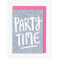 Raspberry Blossom Let's Party Birthday Card