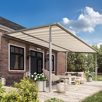 Lanai Koa All Weather Pergola Awning