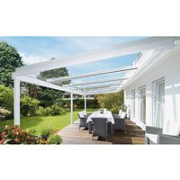 Lanai Glass Roof Veranda