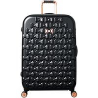 Ted Baker Beau 79cm 4-Wheel Large Suitcase, Black