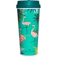 Sara Miller Flamingo Travel Mug, 460ml