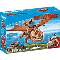 Playmobil Dragons 9460 Fishlegs with Meatlug Play Set