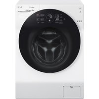 LG FH4G1JCS2 Freestanding Washing Machine, 10kg Load, A+++ Energy Rating, 1400rpm Spin, White