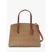 Coach Signature Charlie Carryall Tote Bag, Multi Sig