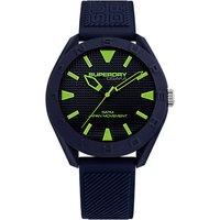 Superdry Mens Osaka Silicone Strap Watch