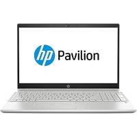 "HP Pavilion 15-cs0026na Laptop, Intel Pentium, 4GB RAM, 128GB SSD, 15"", Silver"