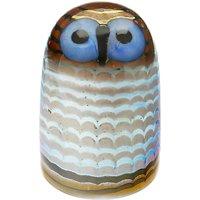 Iittala Toikka Owlet Glass Bird