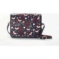 Boden Broadgate Cross Body Bag, Navy/Red