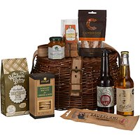 John Lewis & Partners Poacher's Christmas Basket