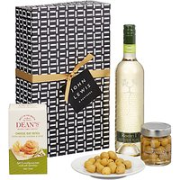 John Lewis & Partners Sauvignon and Savouries Gift Box