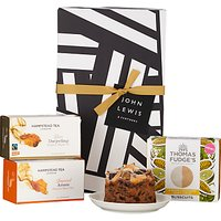 John Lewis & Partners Tea and Biscuits Gift Box
