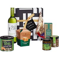 John Lewis & Partners White Wine and Nibbles Gift Box
