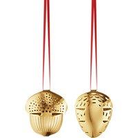 Georg Jensen Acorn Christmas Mobile, Gold
