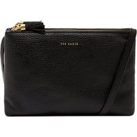 Ted Baker Maceyy Leather Double Zip Cross Body Bag